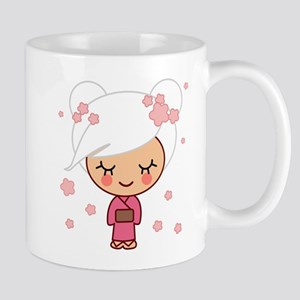 cherry blossom girl Mug
