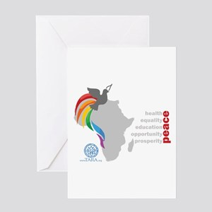 Africa Peace Greeting Card