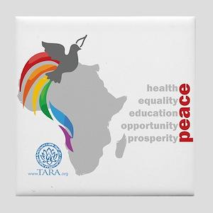 Africa Peace Tile Coaster