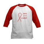 Red Paws 4 Cure Kids Baseball Jersey