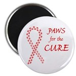Red Paws 4 Cure Magnet