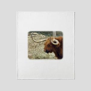 Highland Cow 9R007D-009 Throw Blanket