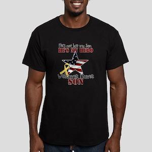 He's not just my Son, He's my Men's Fitted T-Shirt