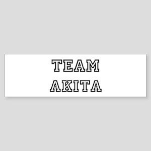 Team Akita Bumper Sticker
