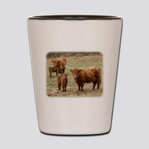 Highland Cattle 9Y316D-055 Shot Glass