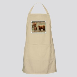 Highland Cattle 9Y316D-055 Apron