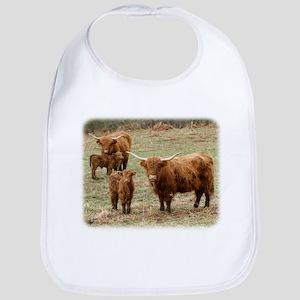Highland Cattle 9Y316D-055 Bib