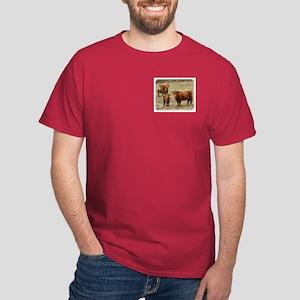 Highland Cattle 9Y316D-055 Dark T-Shirt