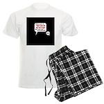 Don't Piss Off The Run Crew! Men's Light Pajamas