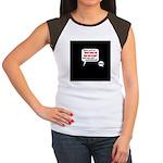 Don't Piss Off The Run Crew! Women's Cap Sleeve T-