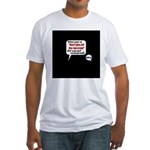 Don't Piss Off The Run Crew! Fitted T-Shirt