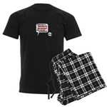 Don't Piss Off The Run Crew! Men's Dark Pajamas