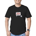 Don't Piss Off The Run Crew! Men's Fitted T-Shirt