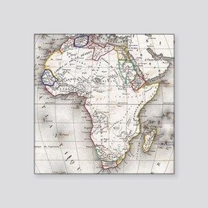 Vintage Map of Africa (1852) Sticker