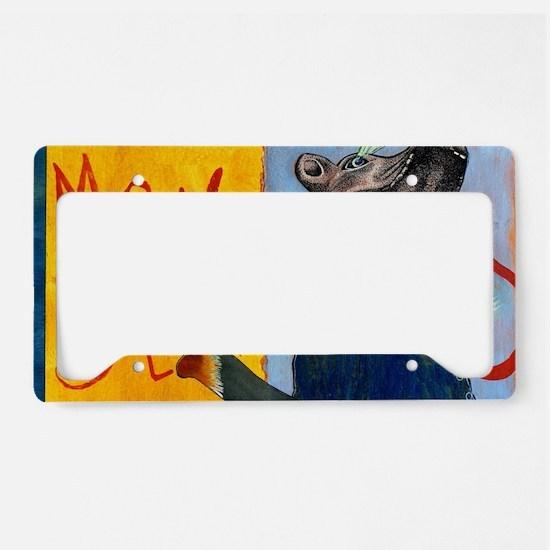 Unique Democrat License Plate Holder