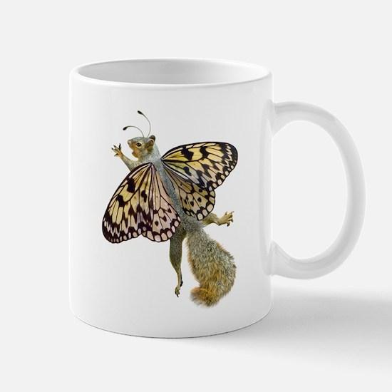 Flying Butterfly Squirrel Mug