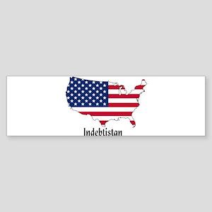 Indebtistan Sticker (Bumper)