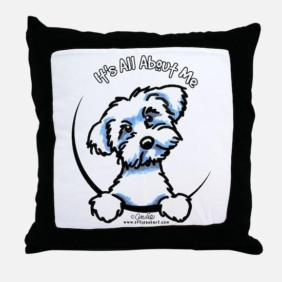 Maltese IAAM Throw Pillow