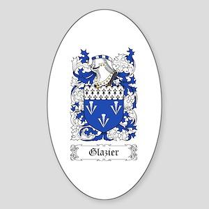 Glazier Sticker (Oval)