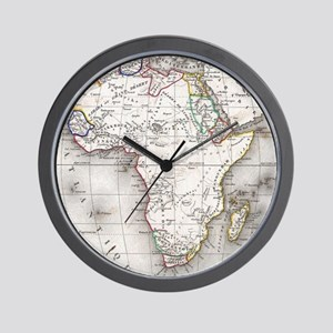 Vintage Map of Africa (1852) Wall Clock