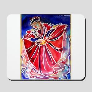 Fiesta Dancer, Bright, Mousepad