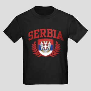 Serbia Kids Dark T-Shirt