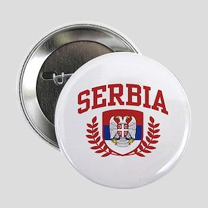 "Serbia 2.25"" Button"