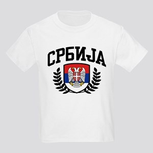 Serbia Kids Light T-Shirt
