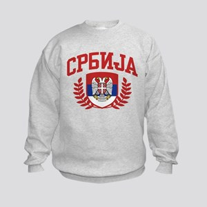 Serbia Kids Sweatshirt