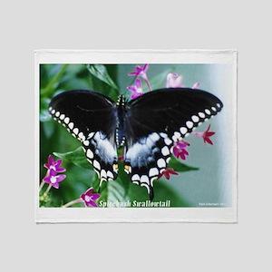 Spicebush Swallowtail Throw Blanket