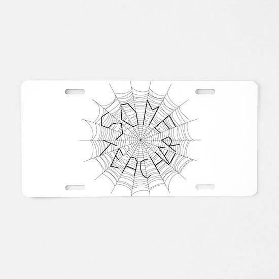 CW: Teacher Aluminum License Plate