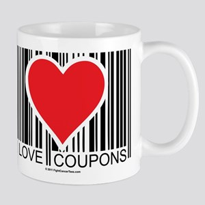 I Love Coupons Mug