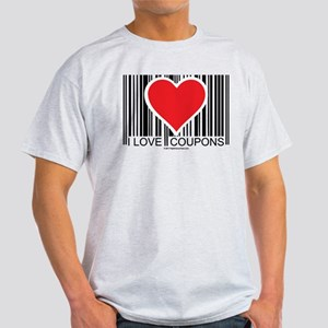 I Love Coupons Light T-Shirt