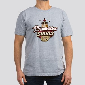 Baumeister Sodas: Men's Fitted T-Shirt (Color)
