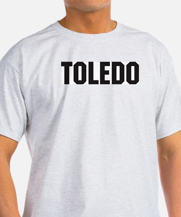 Toledo, Ohio Ash Grey T-Shirt