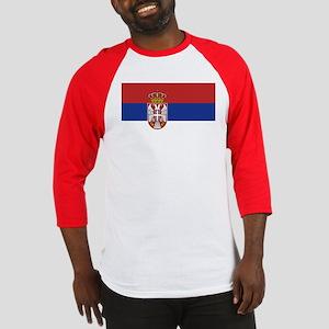 Flag of Serbia Baseball Jersey