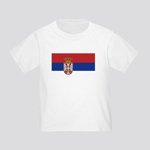 Flag of Serbia Toddler T-Shirt