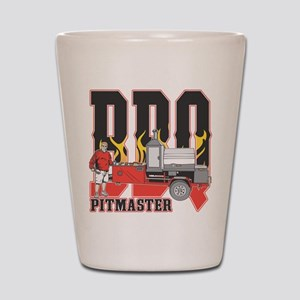 BBQ Pit master Shot Glass