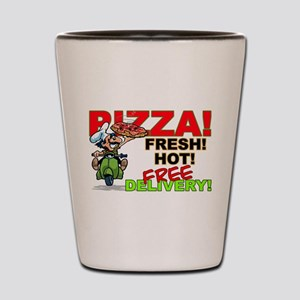 Pizza Sign Shot Glass