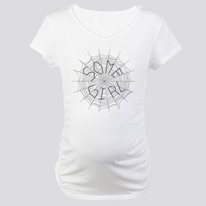 CW: Girl Maternity T-Shirt