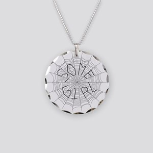 CW: Girl Necklace Circle Charm