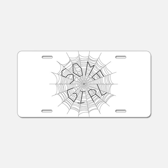 CW: Girl Aluminum License Plate
