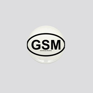 GSM - Great Smoky Mountains Mini Button