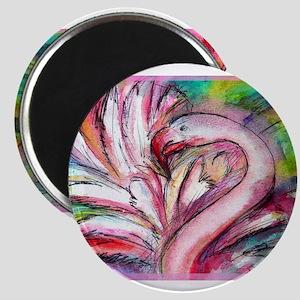 Flamingo, colorful, Magnet