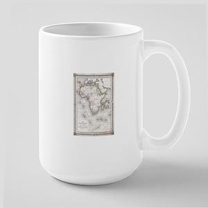 Vintage Map of Africa (1852) Mugs