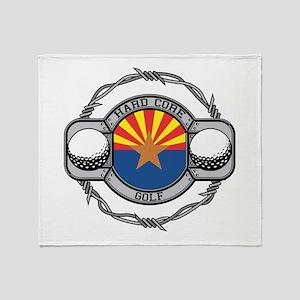 Arizona Golf Throw Blanket