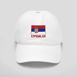 Flag of Serbia Cap