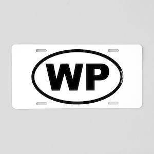 WP Aluminum License Plate