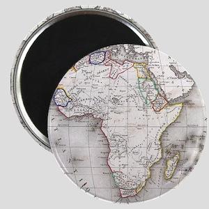 Vintage Map of Africa (1852) Magnets