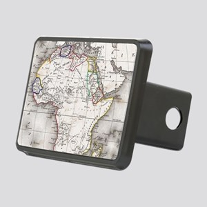Vintage Map of Africa (185 Rectangular Hitch Cover